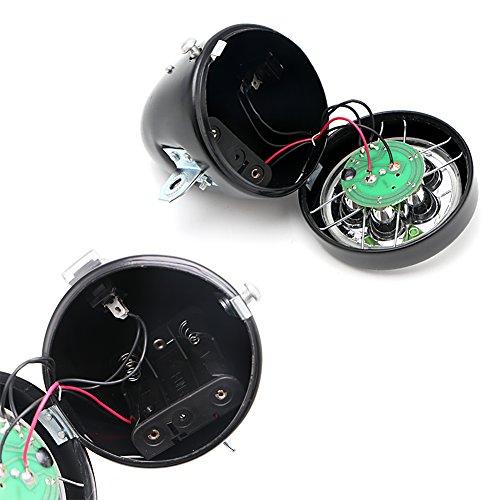 NNDA CO Retro Bicycle Bike Front Light Lamp 7 LED Fixie Headlight Headlamp with Bracket by NNDA CO (Image #3)