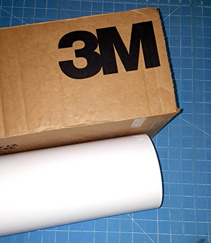 24'' x 100 Ft Roll of White 3M ScotchCal Series 50 Graphic & Sign Cutting Vinyl
