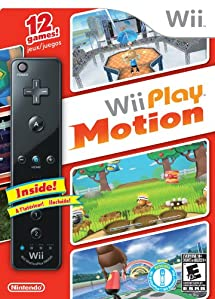 Wii Play Motion with Black Wii Remote Plus
