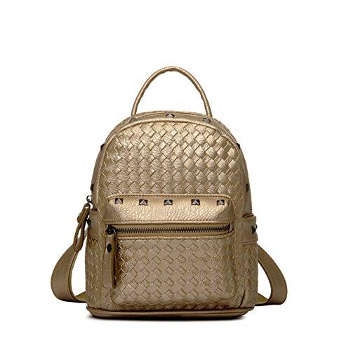 Bolsa de señoras del/Mochila de remache/Bolsas de viaje minimalista-C B