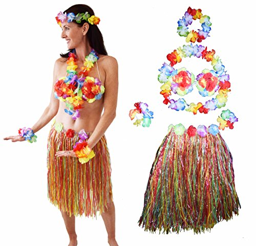 Gift it Guru Hawaiian Hula Costume for Women