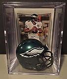 Philadelphia Eagles NFL Helmet Shadowbox w/ Donovan McNabb card
