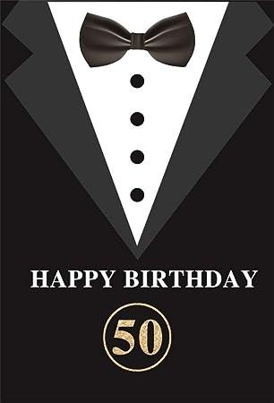 BuEnn Telón de Fondo de Fiesta de 50 cumpleaños Feliz de ...