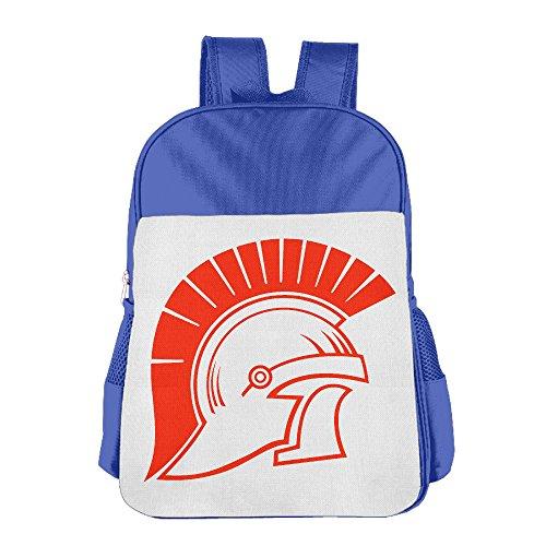 IOH Trojan Helmet Children Leisure Backpack RoyalBlue
