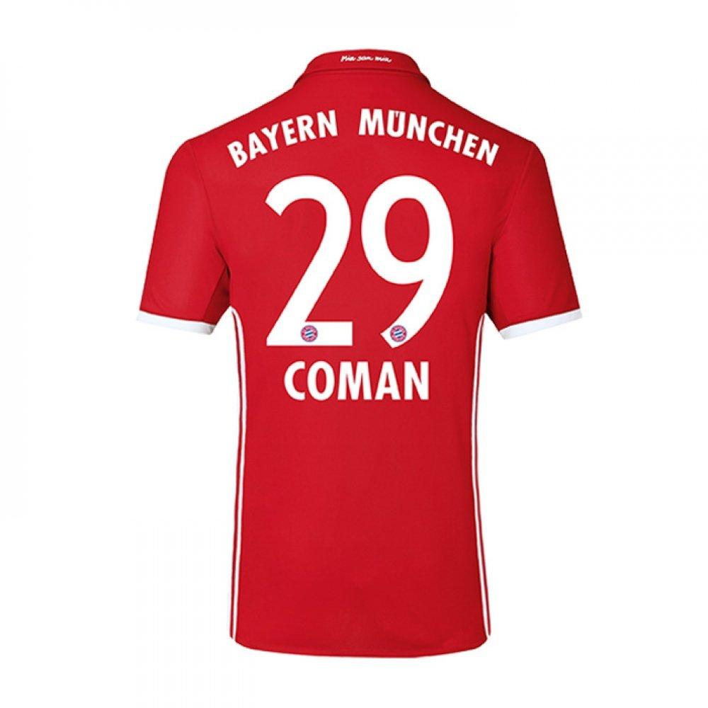 2016-17 Bayern Home Football Soccer T-Shirt Trikot (Kingsley Coman 29) - Kids