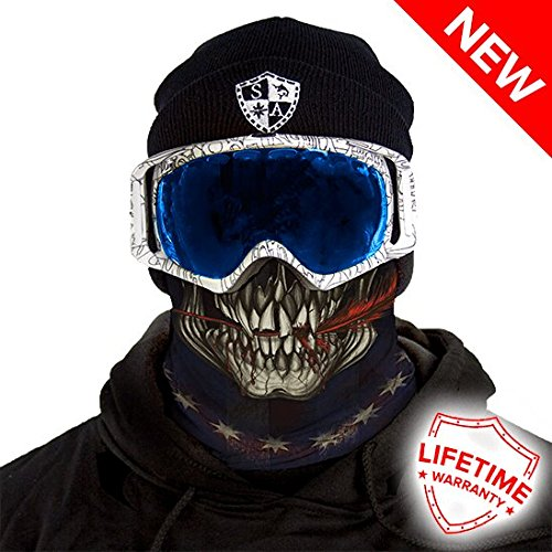 Salt Armour Frost Tech Fleece Lined Face Shield | 1776 (Fleece Lined Bandana)