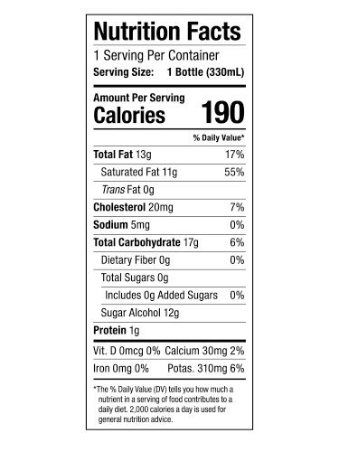 Bulletproof Coffee Cold Brew Ready To Drink- Ketogentic Diet, Sugar-Free, Includes Grass-Fed Butter and Brain Octane Oil, Vanilla (12 Pack) by Bulletproof (Image #2)