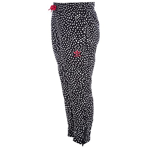 Price comparison product image adidas Originals Girl's Crepe Pants Blackwhite 10 Black