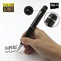 ZTCOO Hidden Camera Spy Pen Camera HD 1080p Spy Recorder Pen Video Recorder with 8GB Memory Card and Card Reader + 2 ink Fills Inc as Gifts