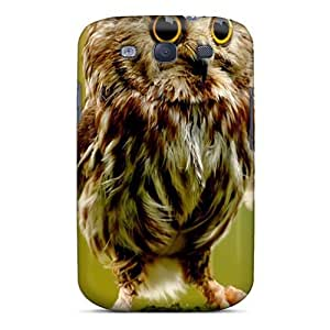 Cute Appearance Cover/tpu Baby Owl Case For Galaxy S3