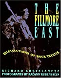 The Fillmore East, Richard Kostelanetz, 002871847X