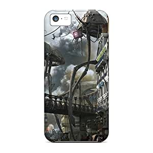 Hot Attacked The Town First Grade Tpu Phone Case For Iphone 5c Case Cover