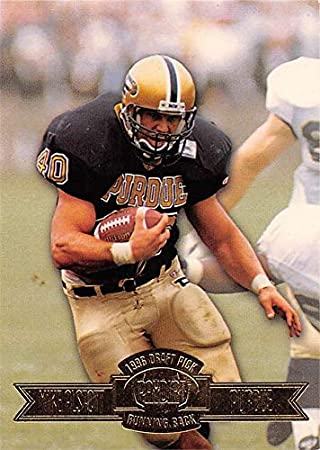 Mike Alstott football card (Purdue Boilermakers) 1996 Press Pass Draft  Paydirt Rookie  20 d458711b9
