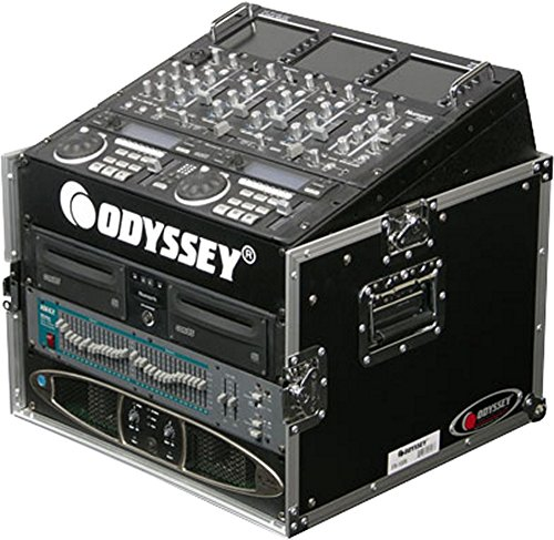 Odyssey FR1006 ATA Flight Ready Combo Rack Case 10 Space Combo Rack Case