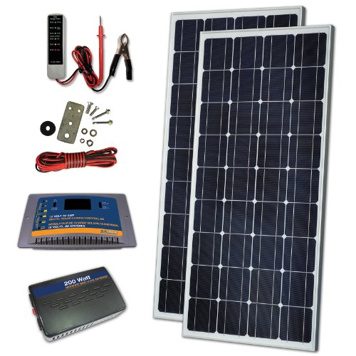 Sunforce 37826 170W Crystalline Solar Kit by Sunforce