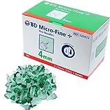 Bd Micro Fine Plus 32g X 4mm Pen Needles 100 Count