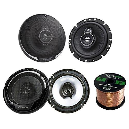 """2 Pairs Car Speaker Package Of 2x KFC1795PS 660-Watt 6-3/4"""""""