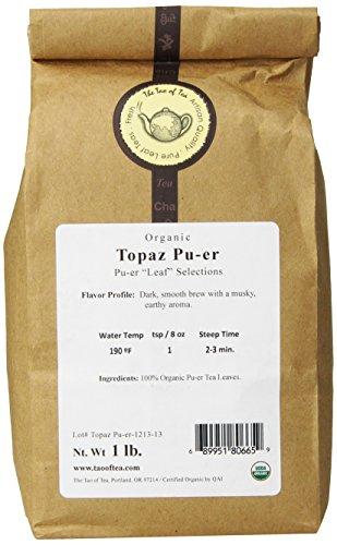 The Tao of Tea Topaz Pu-er, - Caravan Characteristics