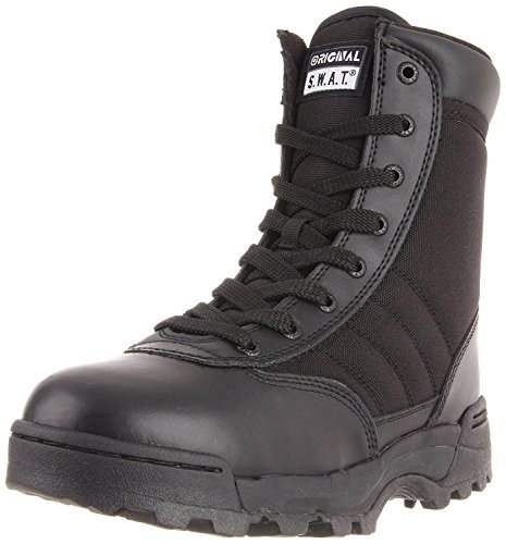 Original S.W.A.T. Men's Classic 9 Inch Side-zip Tactical Boot, Black, 13 2E US ()