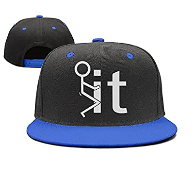 Megashirtz - F--- It - Vintage Style Trucker Hat Retro Mesh Cap