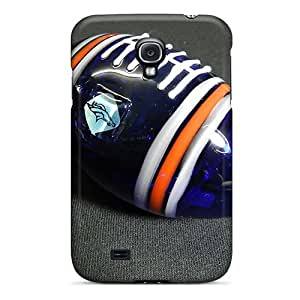 Elaney Perfect Tpu Case For Galaxy S4/ Anti-scratch Protector Case (denver Broncos)