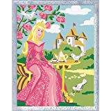 Dove Princess Painting by Numbers Kit Glitter Series by Ravensburger