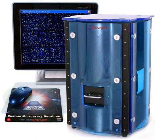 Arrayit® SpotLight Fluorescent Microarray Scanner