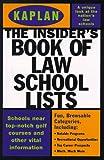 Big Book of Law School Lists 1998, Adele Scheele, 0684841770