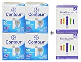 Bayer Contour Test Strips, 200 Count + 200 Lancets