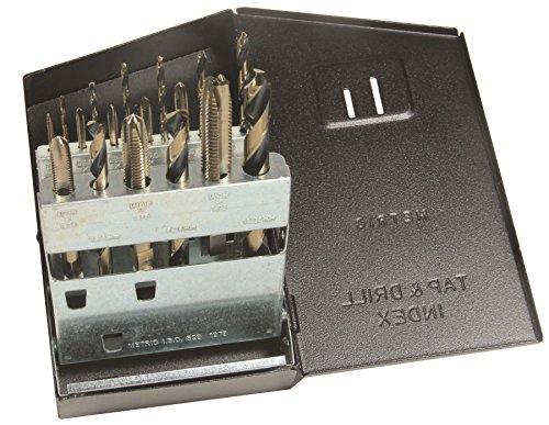 (Viking Drill and Tool 57990 SP-18TDM Type 21-UB Spiral Point Plug Style Magnum Super Premium Tap/Drill Set)