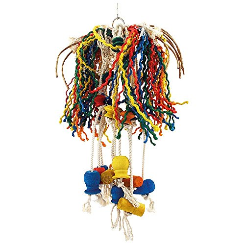 Zoo-Max Toopet with Paper Rope Bird Toy,