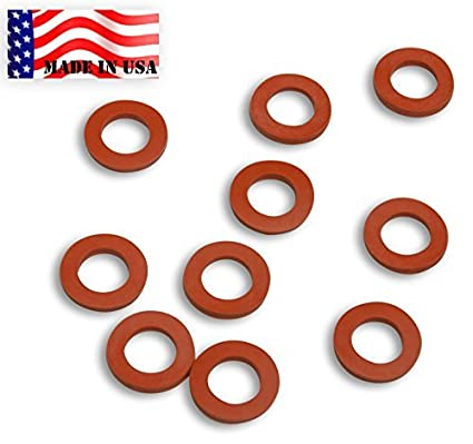 Amazon.com : Garden Hose Heavy Duty Silicone Rubber Washers-10-pack ...