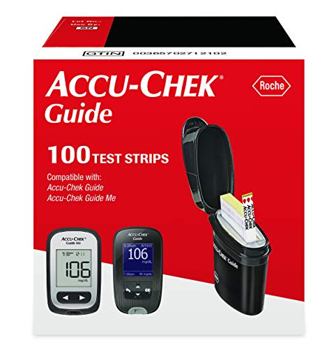 Accu-Chek Guide Test Strips for Diabetic Blood Glucose Testing (100 Ct.)