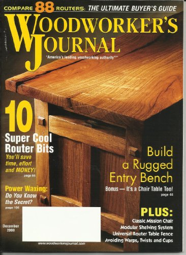 Woodworkers Journal December 2008