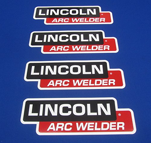 (4 Lot OEM Hood Decal Fits Lincoln Arc Welder Sa 200 250 Sae 300 400 Pipeline)