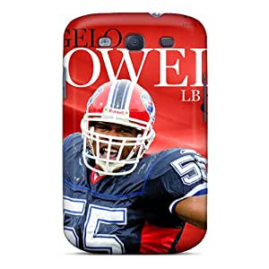 Premium Durable Buffalo Bills Fashion Tpu Galaxy S3 Protective Case Cover