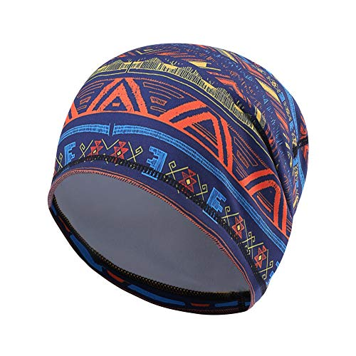 UHEREBUY Summer Running Skull Cap/Beanie Cap/Helmet Liner/Dew rag/Chemo Cap/Bald Cap for Men and Women Hat Liner