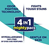 All Mighty Pacs Laundry Detergent Free Clear Odor