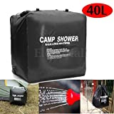 MAZIMARK--40L Portable Solar Heated Shower Water Bathing Bag Outdoor Camping Hiking Camp
