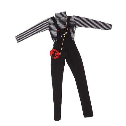 Amazon.com: Prettyia BJD - Pantalón de manga larga con ...