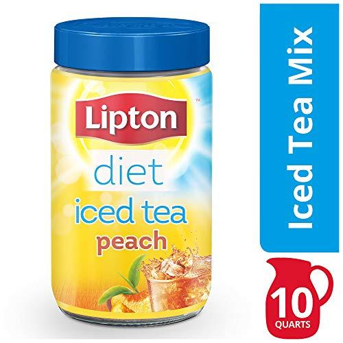 Lipton Iced Tea Mix, Diet Peach, 10 qt