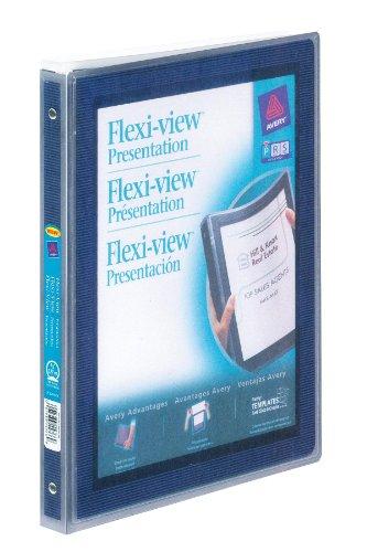 AVE15766 - Avery Flexi-View Presentation Binder Avery Flexi View Presentation Binders
