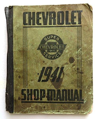 (1941 Chevrolet Shop Manual )
