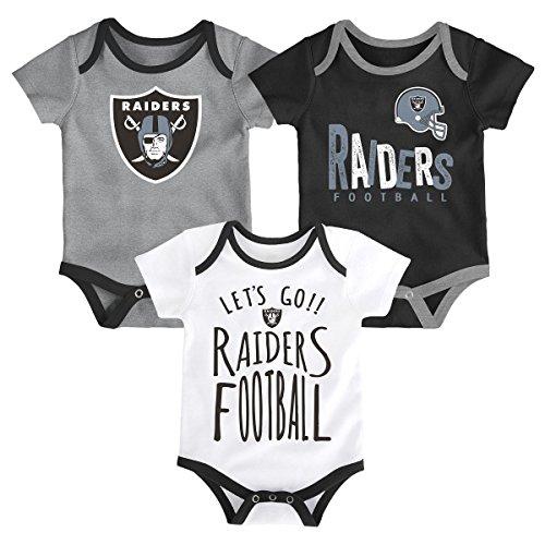 e2a5c484d Outerstuff NFL NFL Oakland Raiders Newborn & Infant Little Tailgater Short  ...