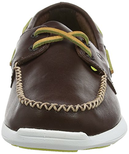 Marron Sider Marron Homme Top Sojourn Baskets Leather Sperry Basses 5x81PqP0