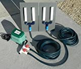 Model #ADS423 Air Diffuser System for Koi Ponds and Water Gardens by: Bubblemac Industries Inc.