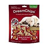 Cheap DreamChips Chicken Dog Chews, Rawhide Free, 24-Count