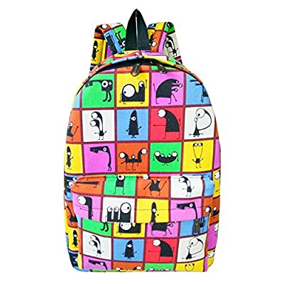 febf76e5e3 best Haydice school backpack for girls and teen daypack school bags Canvas  floral bag
