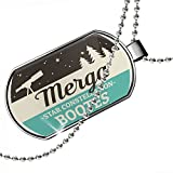 Dogtag Star Constellation Name Bootes - Merga Dog tags necklace - Neonblond