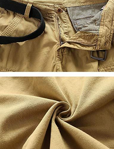 En Travail Extérieur Base Bermuda Hommes Été De Kaffeebraun Mode Pantalon Shorts Pantalons 77 Coton Chic Bolawoo Cargo wqRx4OXIO